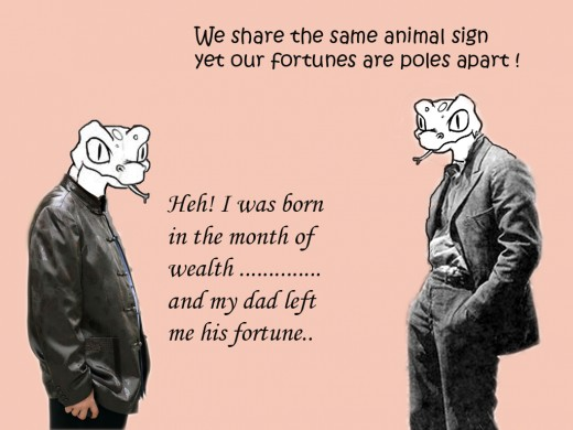 """We are born unequal - it's not fair. Some are born """"rich"""", some just don't have the """"elements"""" to be rich."""