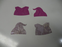 2 sets of bottom layer clothes cut