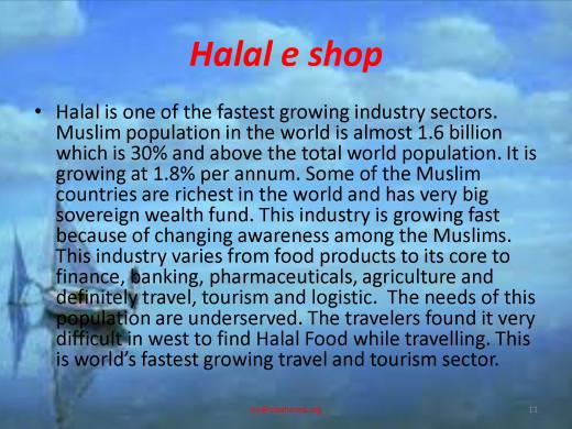 Halal e-shop