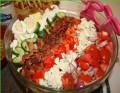 DIY Cobb Salad for a Potluck