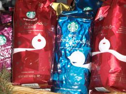 Starbucks Holiday blend. Yum!