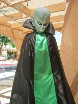 """Here's a picture I took at an """"Alien"""" themed tourist shop in Boulder City, Nevada last summer. Just wanted to share it so we will know what aliens look like in case there really is a future alien invasion~ I mean, since there wasn't one on 12/21/12."""