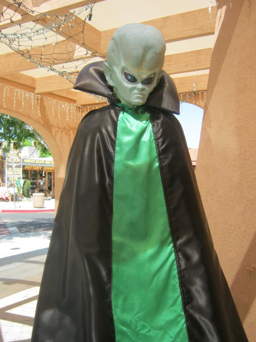 "Here's a picture I took at an ""Alien"" themed tourist shop in Boulder City, Nevada last summer. Just wanted to share it so we will know what aliens look like in case there really is a future alien invasion~ I mean, since there wasn't one on 12/21/12."