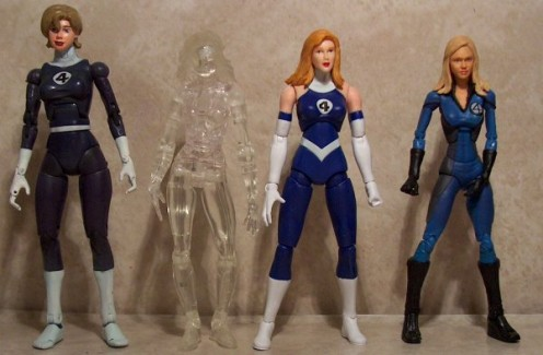 Invisible Woman Costume History