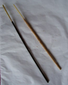 Sandalwood and pine incense are two of the best incenses for cleansing negativity.