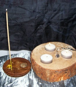 Candles, crystals as well as incense can all be used to cleanse a place of negative energy.