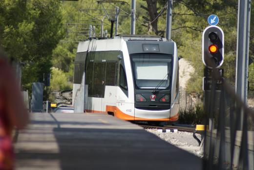 Benidorm's TRAM the new service to Alicante