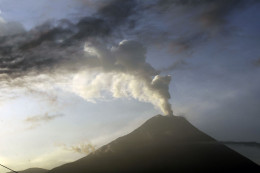 This photo of the Tungurahua volcano shows that the increase in volcanic activity world wide is increasing.