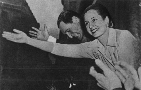 Evita and Juan Peron