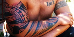 Beautiful Polynesian Tattoos from King Afa!