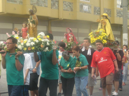 Infant Jesus Day @ Paranaque City, Manila, Philippines (Photo Taken on January 15, 2012)