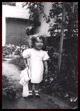Nellieanna's hair at age one.