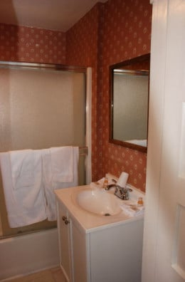 Privacy - a shower room