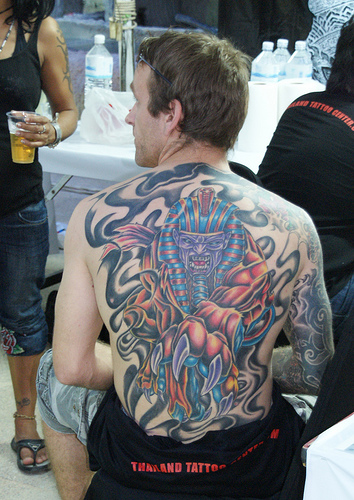 Tattoo Arts Festival in Pattaya, Thailand