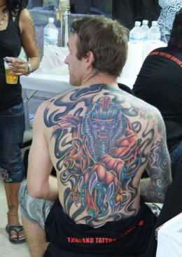 Tattoo Arts Festival in Pattaya, Thailand