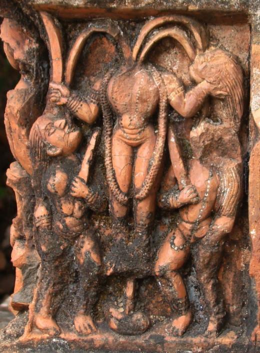 Goddess Chhinomasta, Ajodhya