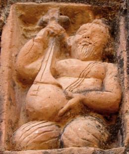 A Shaivite Yogi with a Veena; Ajodhya