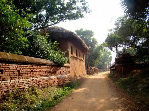 The village Bonkati