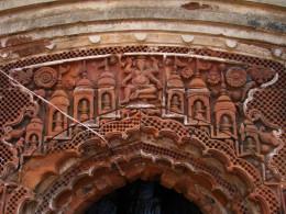Front facade of Shiva temple; Bonkati