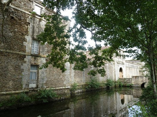 Chantal's family castle, near Orleans