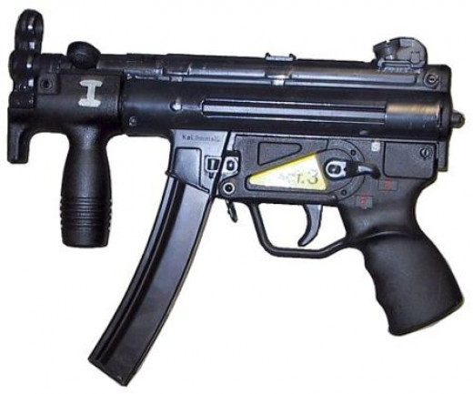 H&K MP-5K is a tactical weapons used by Police S.W.A.T. Team & Special Forces Soldiers