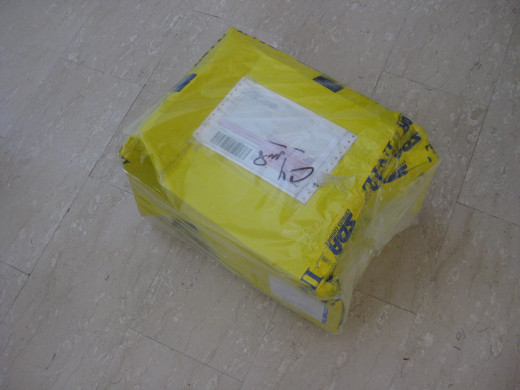 Parcel from Italy