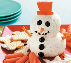 How to Make a Ranch Snowman: Holiday Recipe