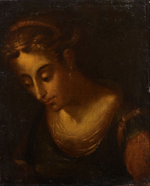 Head of a woman, before 1686. Unknown artist. Dulwich Picture gallery