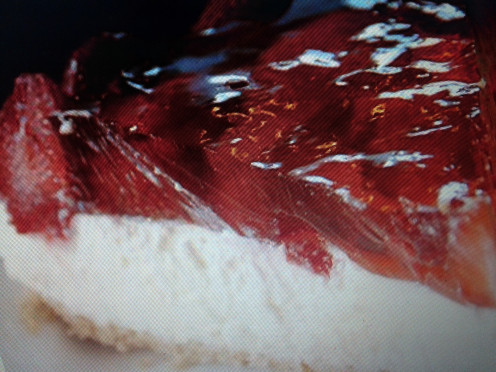 Perfect Strawberry Cheesecake!
