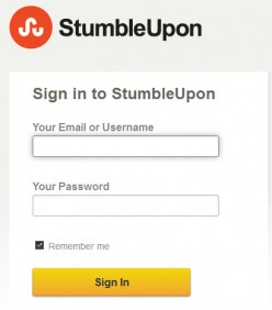 Stumble Upon: How to Submit your Page ?