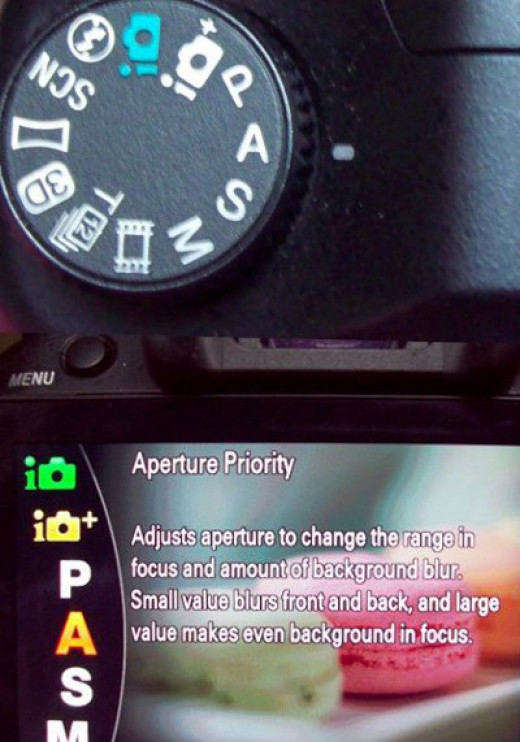 "Setting your camera to ""aperture"" priority will help you determine a good starting-point for the shutter speed settings on your camera."