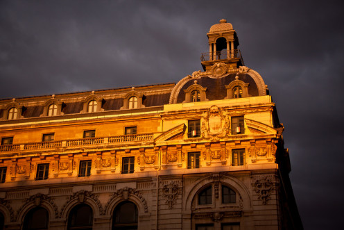 Musée d'Orsay at Sunset - Paris (Parisian Museum)