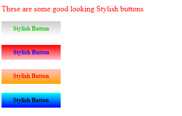 Image2: Style your buttons using CSS