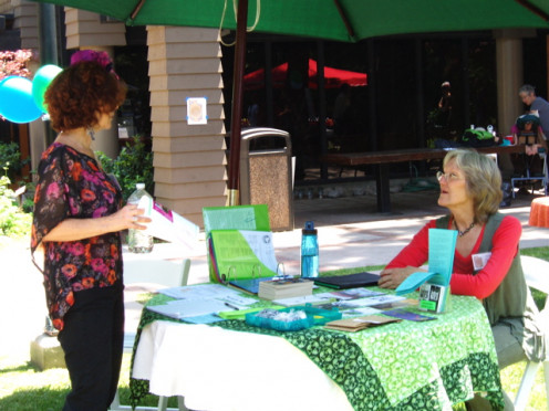 Staffing a table at a local event is a great way to donate your services. Not only can you share information about the nonprofit, but you also can sell products and generate donations.