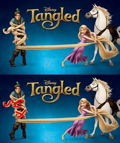 Rapunzel isn't so innocent, is she?