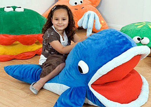 Big Animal Floor Pillows : Animal Floor Pillows for Kids: Why Animal Theme for Kids Bedroom Decor?