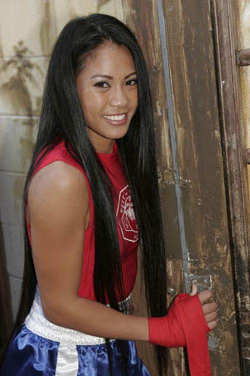 Ana Julaton - Female Boxer