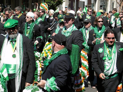 Christopher Angell photographed the St. Patrick's Day Parade in New Orleans, Louisiana on March 17, 2007.