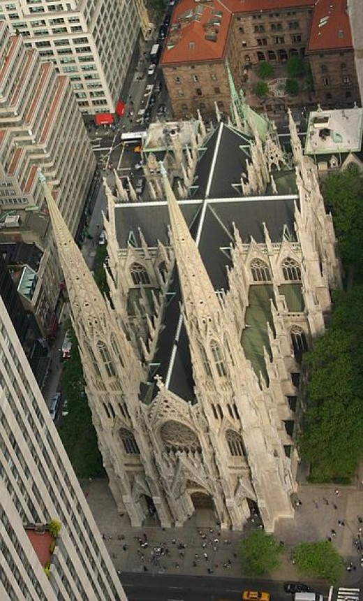 J.M. Luijt photographed St. Patrick's Cathedral in New York City on May 25, 2006.