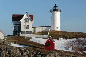 Nubble Lighthouse at Cape Neddick