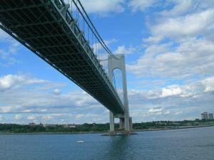Verrazano Bridge in New Jersey