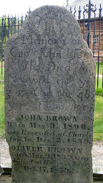John Brown's grave in Elba, NY