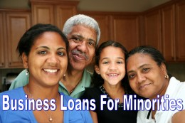 While there are few loans specific to minority businesses, there is much technical assistance available to help find capital.