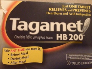 Heartburn medication