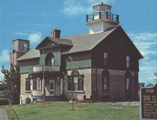 The Michigan City Lighthouse was built in 1858