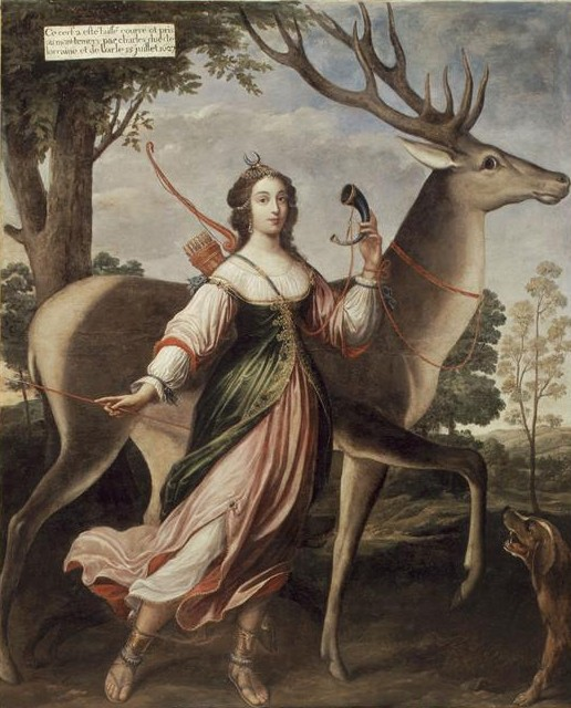(The Duchess of Chevreuse as Diana the Huntress)