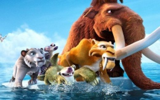 As the continents divide, the stars of Ice Age must navigate icebergs and evil Pirates in Continental Drift.