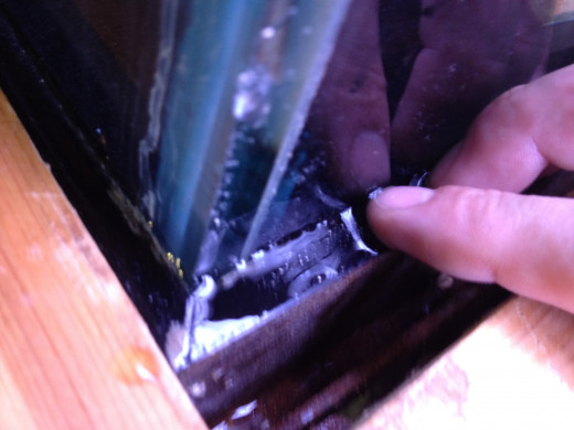 Hopefully you notice the leak in your tank before too much water seeps out and causes damage to your home.