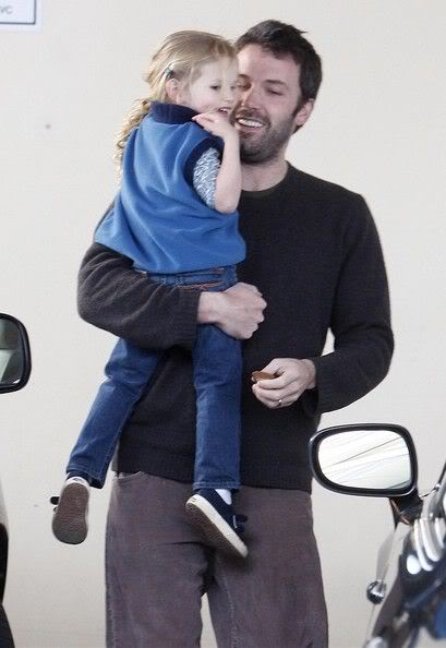Ben Affleck with his Oldest Daughter