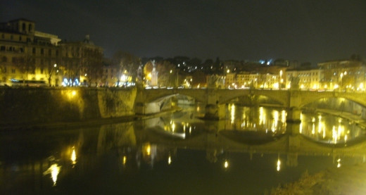 View on the Tevere river